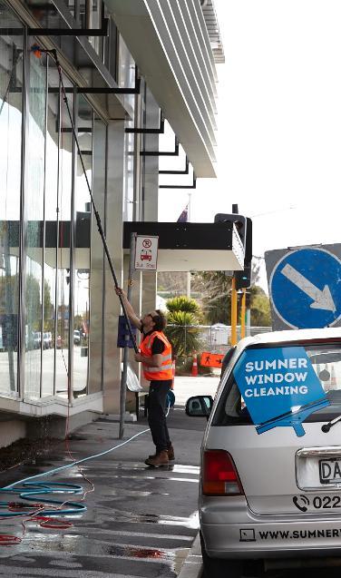 Commercial window cleaning Redcliffs